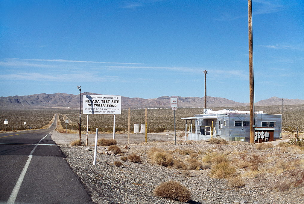 Nuclear Test Area, Nevada