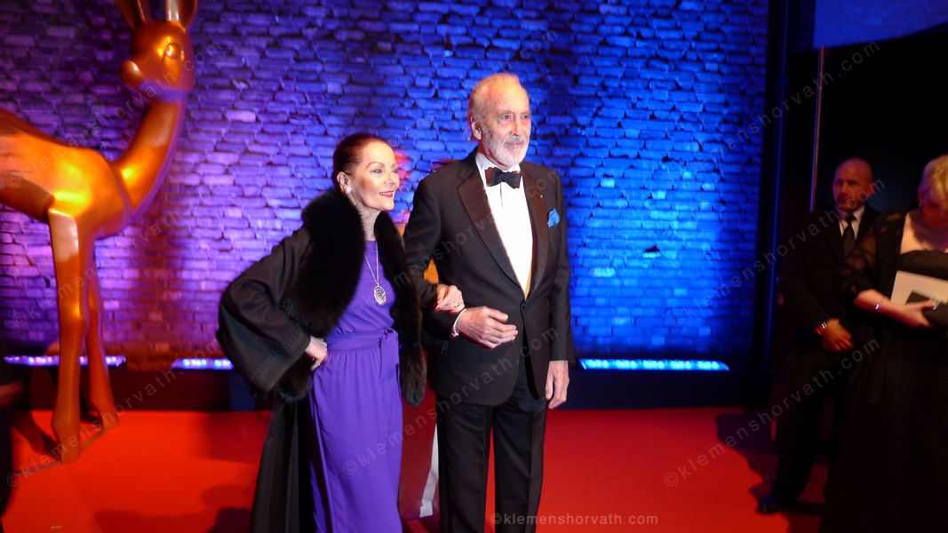 Christopher Lee und Ms. Lee